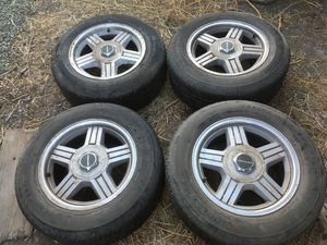 """16"""" Camaro / Firebird / G body GM Rims with Tires for Sale in Vacaville, CA"""