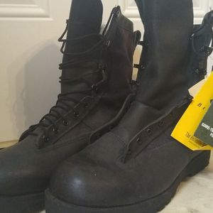 Men's 13W Belleville Combat Boots for Sale in Christiana, TN