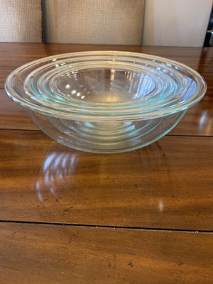 Pyrex Mixing Bowls for Sale in National City, CA