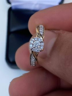 Gold Diamond Ring for Sale in South Gate,  CA