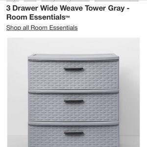 3 Rubbermaid Sterilite Storage Plastic Bureau Dresser for Sale in Santa Monica, CA