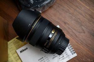 Nikon AF-S NIKKOR 24mm f/1.4G ED Lens for Sale in Lynnwood, WA