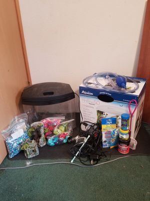 5 gallon fish tank kit for Sale in Lacey, WA