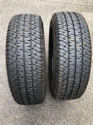 2 Michelin tires 265/70/18 load E 11/32 for Sale in Auburn, WA