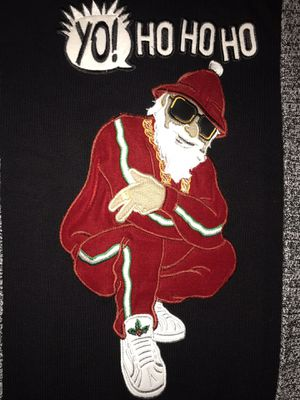 Hip-Hop Santa 2XL Ugly Christmas Sweater- Brand new! for Sale for sale  WHT SETTLEMT, TX