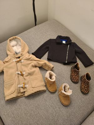 clothes and shoes for babies 6-18months for Sale in Northglenn, CO