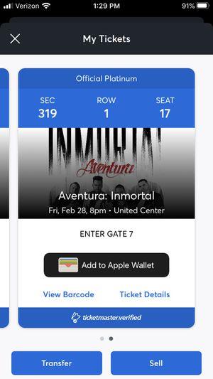 Aventura row 1 for Sale in Chicago, IL