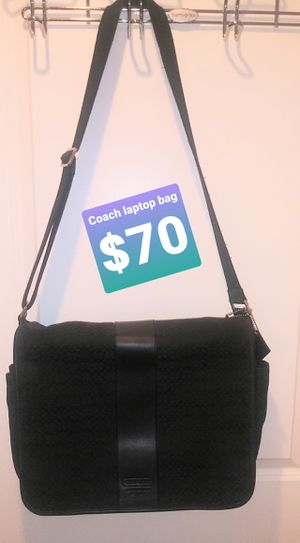 NUSED COACH LAPTOP BAG for Sale in Rockville, MD