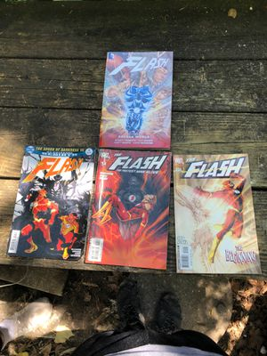 The Flash Volume 7/ 3 Comic Books. One Dc Universe for Sale in Rockville, MD