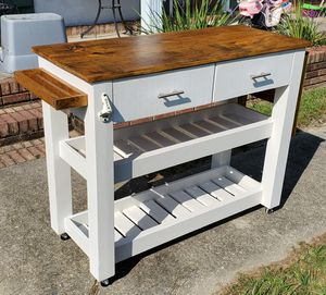 Custom made pallet furniture- kitchen island, cabinets, hall tree for Sale in Bay St. Louis, MS