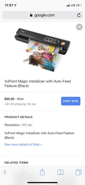 Magic wand portable scanner for Sale in San Antonio, TX