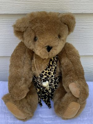 """Vermont Handmade Wild 4 You Authentic Jointed Teddy Bear 16"""" for Sale in Dallas, GA"""