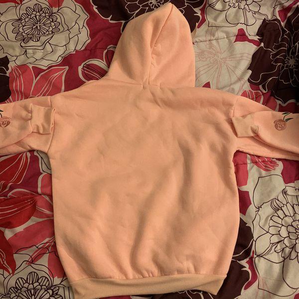 BTS floral pink hoodie
