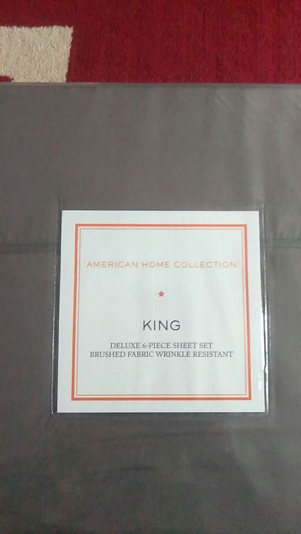King size 6 pieces