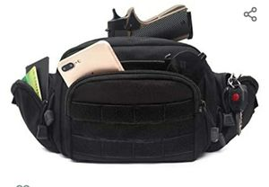 Concealed Pistol Fanny Pack Waist Bag Shoulder Strap Pouch Gun Holster Fits 1911 and More for Sale in Miami, FL
