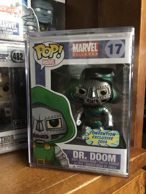 Funko Pop! Metallic Dr. Doom 2014 Bangkok convention exclusive for Sale in Lompoc, CA
