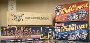 Old baseball card sets for Sale in Absecon, NJ