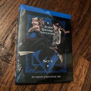 JoJo's Bizarre Adventure Stardust Crusaders Blu Ray Set 2 for Sale in Dallas, TX