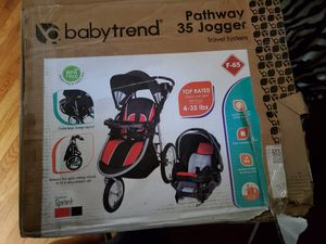 Car seat jogger stroller combo for Sale in Creswell, OR
