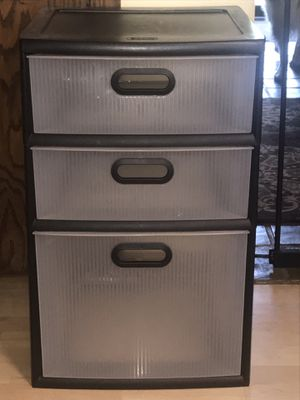 Plastic drawers for Sale in Lombard, IL