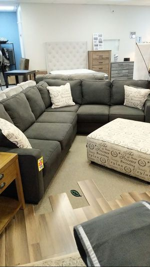 ⚓⚓Best OFFER ⚓ $39 Down Payment  Alenya Charcoal LAF Sectional 252 for Sale in Jessup, MD