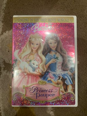 Barbie As the princess and the pauper and shrek 2 for Sale in Irvine, CA