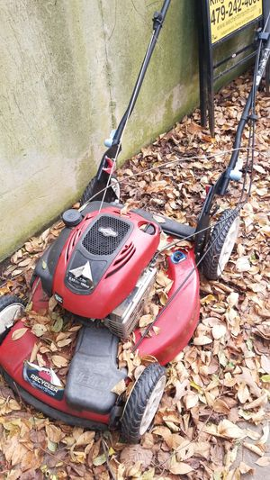 2 push lawnmowers toro and craftsman for Sale in Fort Smith, AR
