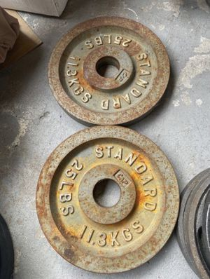 25lb Olympic weights for Sale in City of Industry, CA