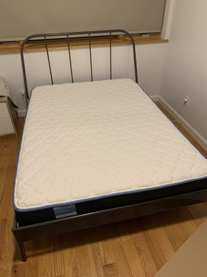FULL SIZE BED FRAME AND AND MATTRESS- BOTH IN GREAT CONDITION for Sale in Brooklyn, NY