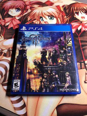 Kingdom Hearts 3 PS4 for Sale in Colma, CA