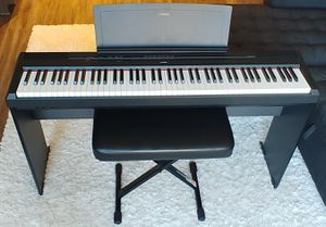 Yamaha P-115B Keyboard Piano for Sale in Arlington, VA