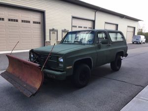 1984 Chevy Blazer M1009 Military for Sale in Naperville, IL