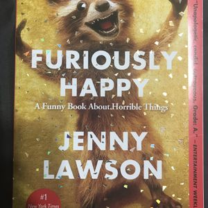 NEW! 📔FURIOUSLY HAPPY BY JENNY LAWSON for Sale in City of Industry, CA
