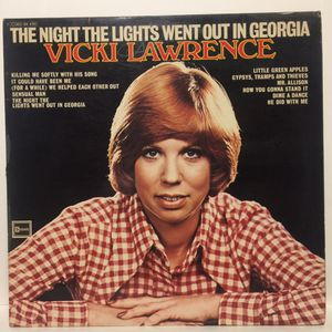 Vicki Lawrence 'The Night The Lights Went Out In Georgia' (LP) Vintage Vinyl Record, 1973 for Sale in Alexandria, VA