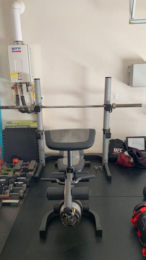 Olympic weight bench/squat, Gold's Gym for Sale in Ontario, CA