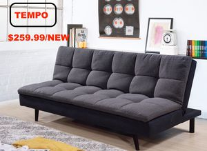 Pillow Top Sofa Bed, Grey for Sale in Huntington Beach, CA