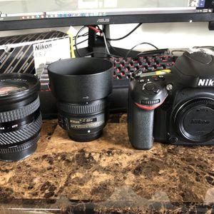 Nikon D600 DSLR Nikon 50mm 1.8g Tokina 19-35mm 3.5-4.5 for Sale in Carson, CA