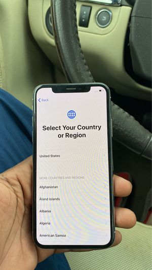Unlocked iPhone X for Sale in Montgomery, AL
