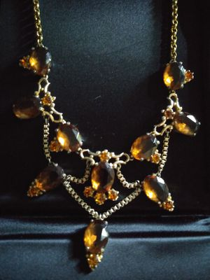Signed Elsa Schiapperelli Vintage Necklace for Sale in Saugerties, NY