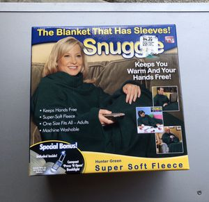Snuggie blanket with sleeves Brand new in box for Sale in Kirkland, WA