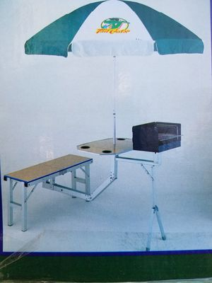 Tailgator picnic table and bench for Sale in Los Angeles, CA
