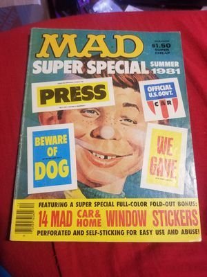 Vintage Mad Magazine for Sale in Nipomo, CA
