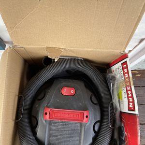 Craftsman Stainless Steel Wet/Dry Vacuum for Sale in Alexandria, VA