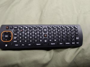 Wireless air mouse remote/ keyboard for Sale in Lakeland, FL
