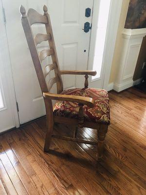 Oak Ladder Back Chairs for Sale in Leesburg, VA
