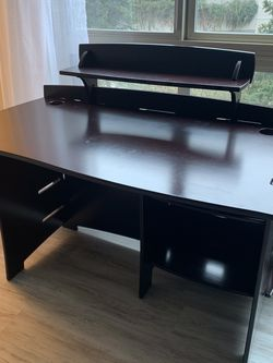 Dark Wood Modular Desk for Sale in Seattle,  WA