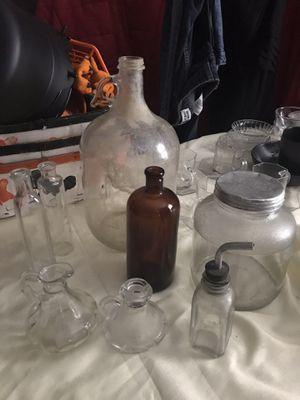 Antique bottle/jar lot for Sale in Fayetteville, NC