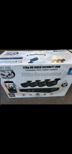 Night Owl HD Video Security Camera DVR 8 channel for Sale in Eugene, OR