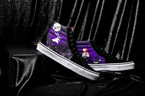 Tim Burton Vans: Size 8.5 for Sale in New Bedford, PA