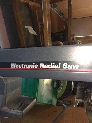 Craftsman 10-inch radial arm saw for Sale in Wichita, KS